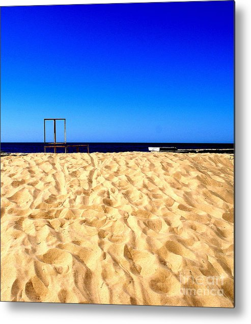 The Sky Metal Print featuring the photograph I Want There by Vadim Grabbe