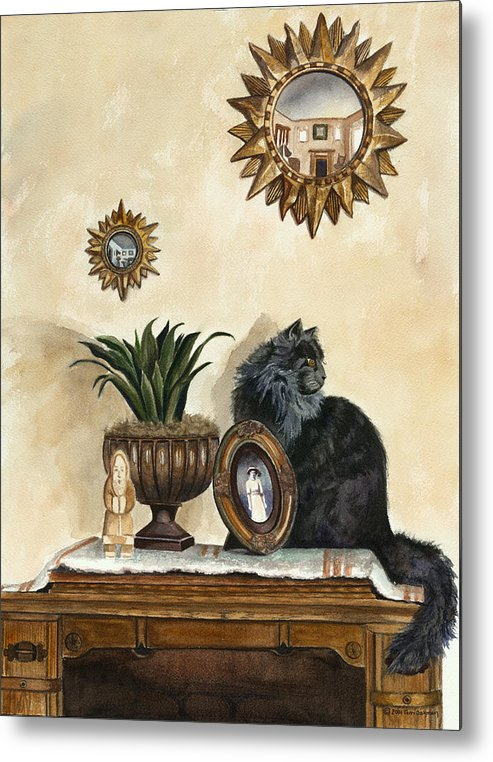 Special Treasures Metal Print featuring the painting Special Treasures by Terri Meyer