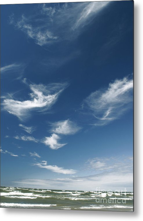 The Sky Metal Print featuring the photograph The Air by Vadim Grabbe