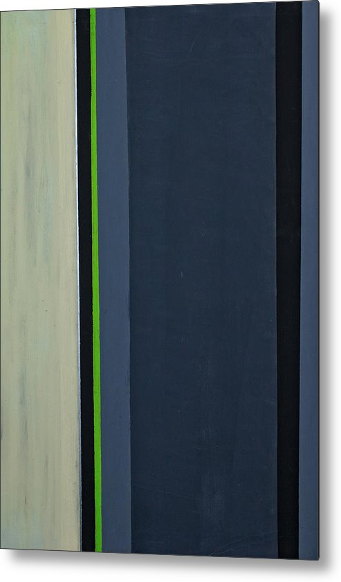 Geometric Metal Print featuring the painting Modern Stripe 1 by Slade Roberts