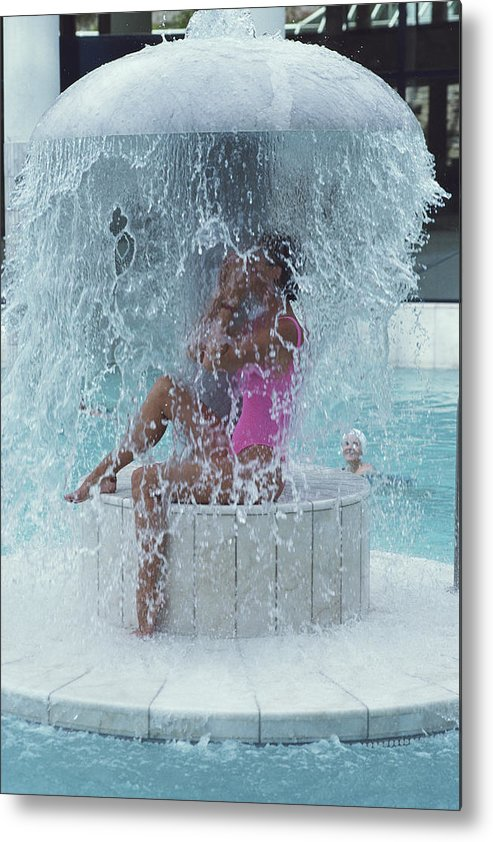 Baden-baden Metal Print featuring the photograph Caracalla Therme by Slim Aarons