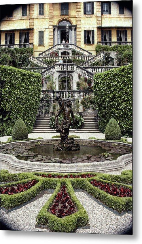 Tremezzo Metal Print featuring the photograph Villa Carlotta by Slim Aarons