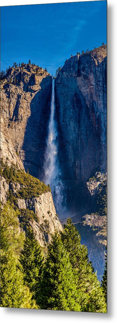 Yosemite National Park Metal Print featuring the photograph Spring Water by Az Jackson