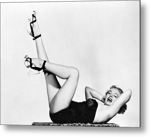 20th Century Metal Print featuring the photograph Marilyn Monroe by Granger