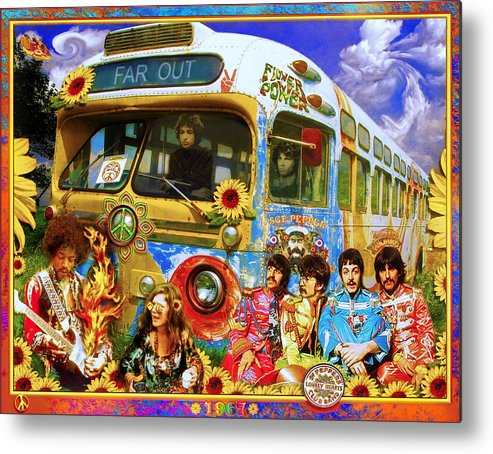 1967 Metal Print featuring the photograph 19 Sixty 7 by John Anderson