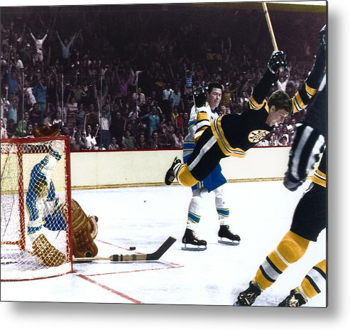 classic Metal Print featuring the photograph Bobby Orr by Retro Images Archive