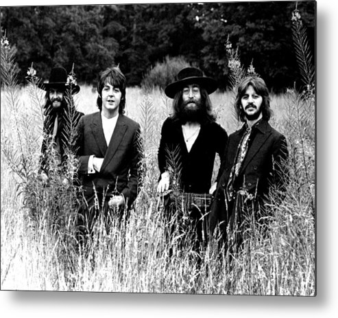 Beatles Metal Print featuring the photograph The Beatles by Retro Images Archive