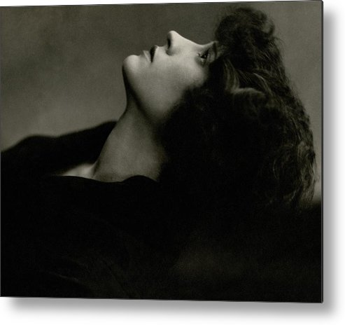Actress Metal Print featuring the photograph Close Up Of Helen Menken by Edward Steichen