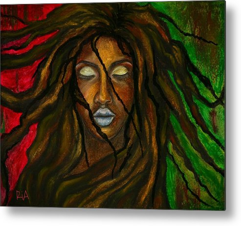 Beautiful Metal Print featuring the photograph Empress Divine by Artist RiA