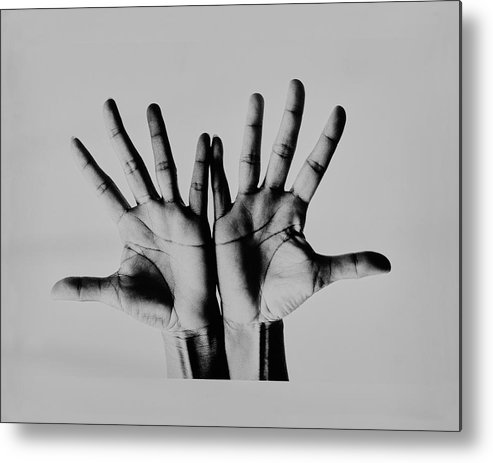 Personality Metal Print featuring the photograph Pearl Bailey's Hands by Bert Stern