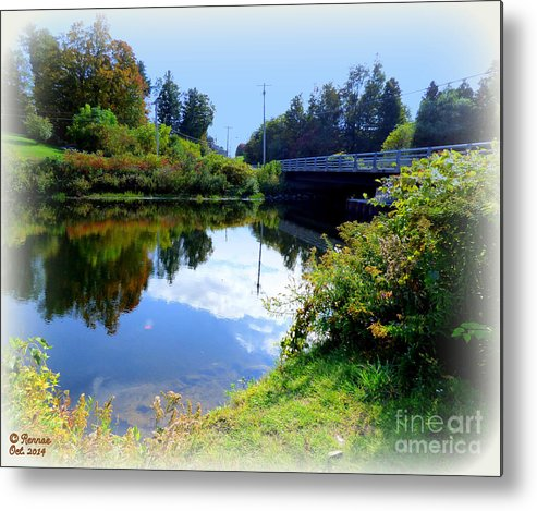 Reflections Metal Print featuring the photograph Quiet Day by Rennae Christman