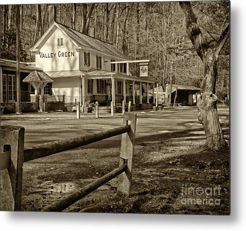 Valley Green Inn Metal Print featuring the photograph Valley Green Inn 2 by Jack Paolini