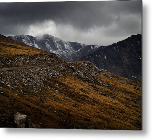 Scenic Metal Print featuring the photograph Mount Evans by Jim Painter