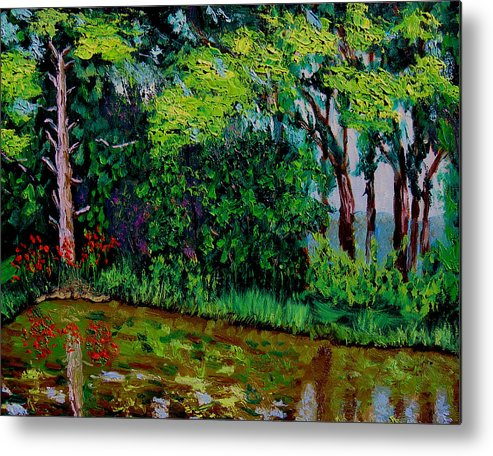 Plein Air Metal Print featuring the painting Bcsp 6 29 by Stan Hamilton