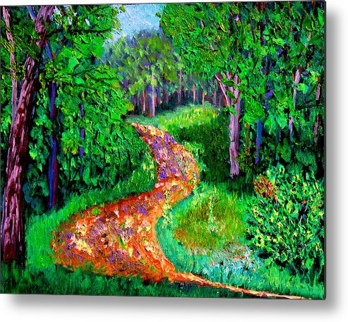 Plein Air Metal Print featuring the painting Bcsp 7 7 by Stan Hamilton