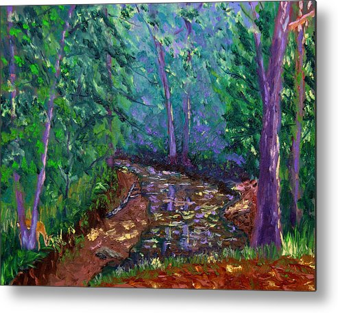 Plein Air Metal Print featuring the painting Bcsp 9 20 by Stan Hamilton