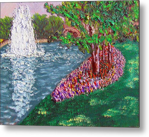 Plein Air Metal Print featuring the painting Wrsp 8 2 by Stan Hamilton