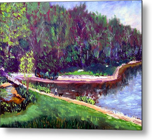 Plein Air Metal Print featuring the painting Ecp 6 20 by Stan Hamilton