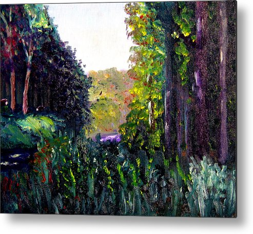 Plein Air Metal Print featuring the painting Bc3 by Stan Hamilton