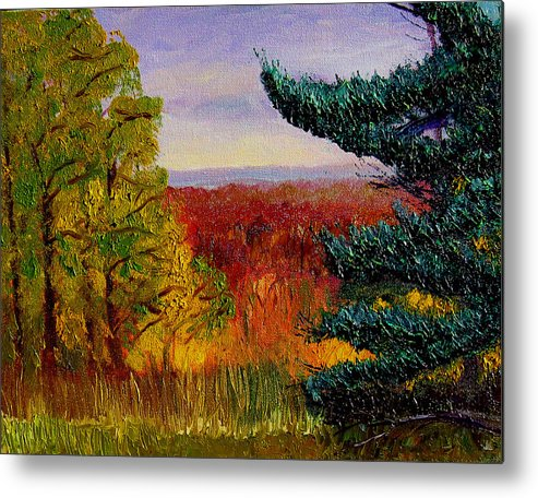 Plein Air Metal Print featuring the painting Bcsp16 by Stan Hamilton
