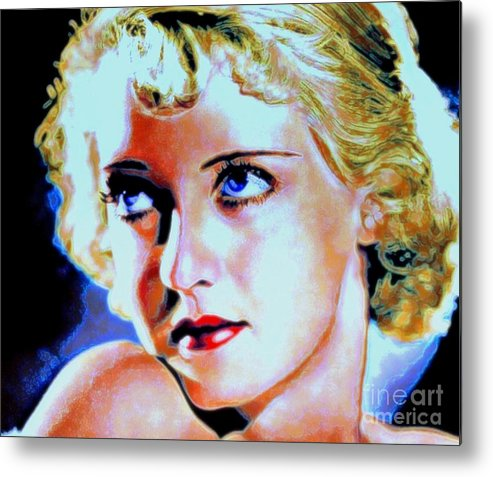 Bette Metal Print featuring the painting Bette by Wbk