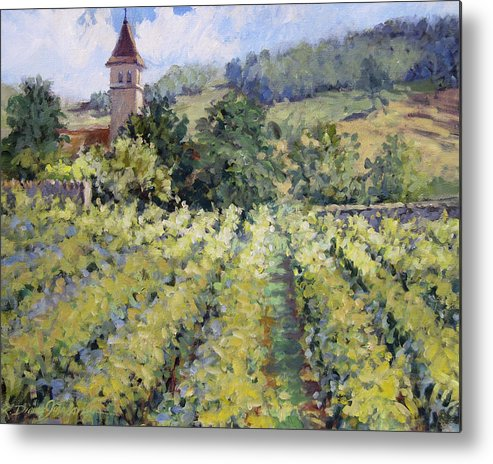 France Metal Print featuring the painting Bless The Harvest by L Diane Johnson