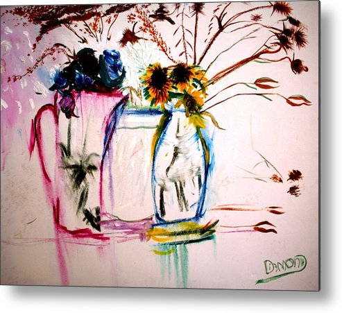 Prints Metal Print featuring the painting Clear by Jack Diamond