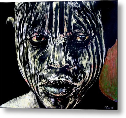Metal Print featuring the mixed media Cusp of Enlightenment by Chester Elmore
