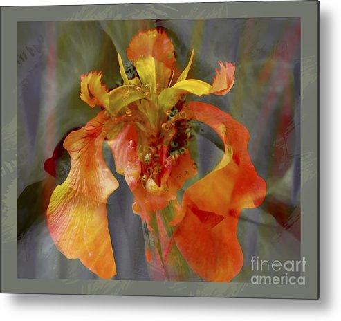 Floral Metal Print featuring the photograph Dragons Breath by Chuck Brittenham
