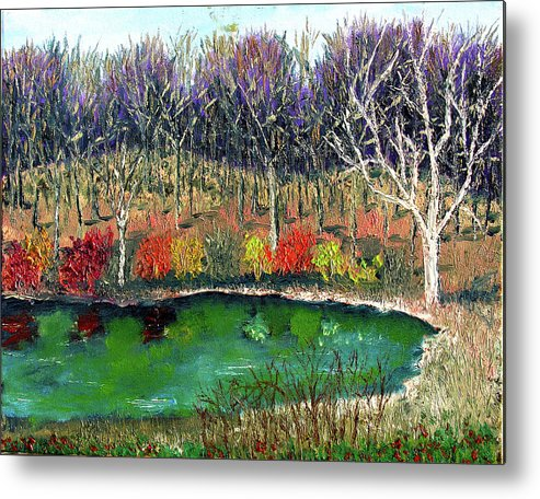 Plein Air Metal Print featuring the painting Ecp 11 14 by Stan Hamilton