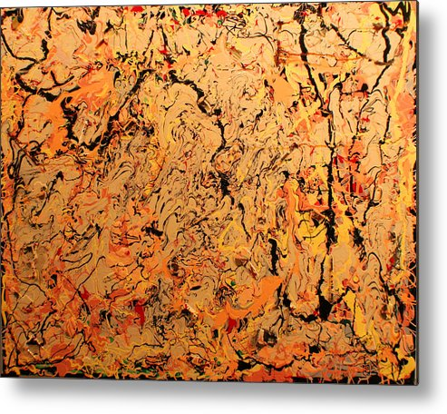 Color And Creative Movement Metal Print featuring the painting Ferramenta by Biagio Civale
