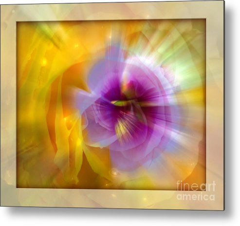 Flower Metal Print featuring the photograph Good Morning Sunshine by Chuck Brittenham