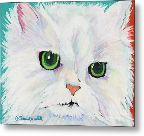 Acrylic Metal Print featuring the painting Hannah by Pat Saunders-White