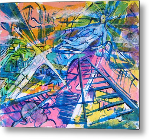 Dream Metal Print featuring the painting More Than A Dream by Rollin Kocsis