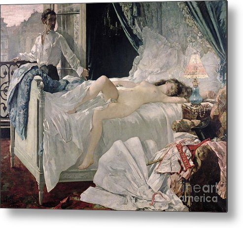 Gervex Metal Print featuring the painting Rolla by Henri Gervex