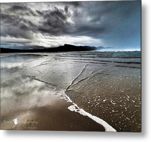 Beach Metal Print featuring the photograph Two Skies by Stephanie McGuire