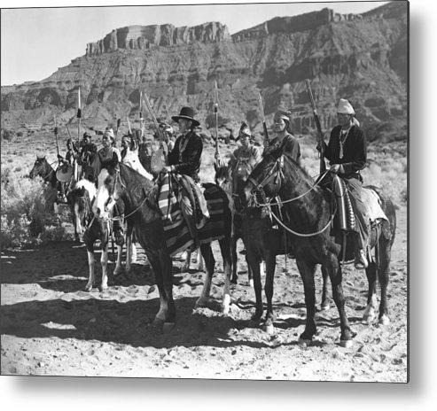 Arizona Metal Print featuring the photograph Wagons Westward 3 by Bob Bradshaw