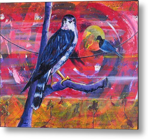 War Metal Print featuring the painting Where Is Love by Rollin Kocsis