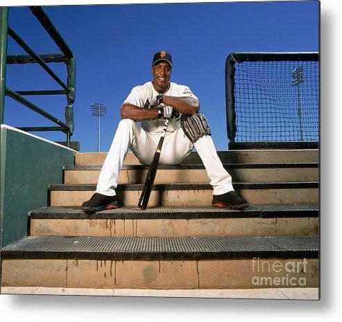 People Metal Print featuring the photograph Barry Bonds by Andy Hayt