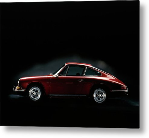 Aerodynamic Metal Print featuring the photograph 1967 Porsche 911 by Heritage Images