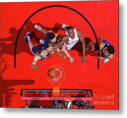 Playoffs Metal Print featuring the photograph 2019 Nba Finals - Golden State Warriors by Mark Blinch