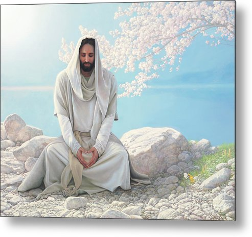 Jesus Metal Print featuring the painting As I Have Loved You by Greg Olsen