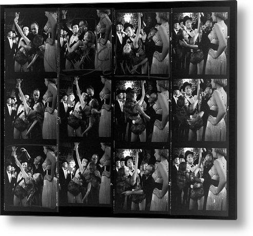 Working Metal Print featuring the photograph Choereographer George Balanchine by Gordon Parks