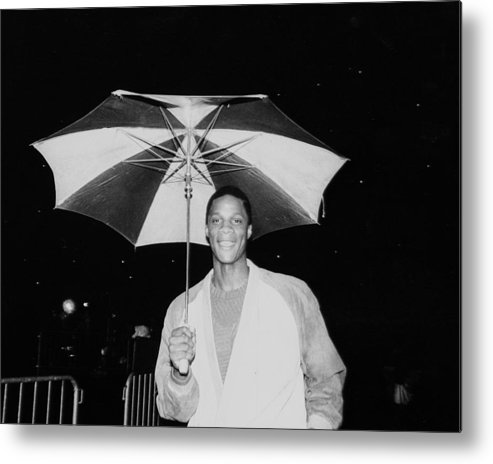 1980-1989 Metal Print featuring the photograph Darryl Strawberry by New York Daily News
