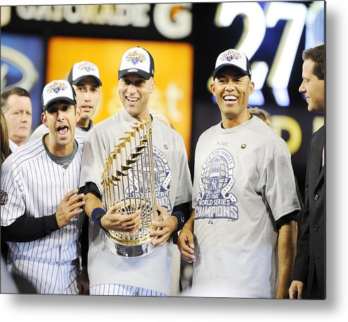 The End Metal Print featuring the photograph Eight Years To The Day His Blown Save by New York Daily News Archive