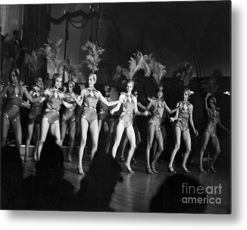 Child Metal Print featuring the photograph Floor Show From The Cotton Club by Bettmann