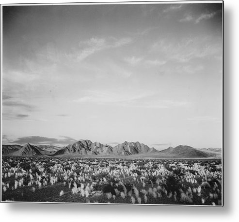 California Metal Print featuring the photograph Near Death Valley National Monument by Buyenlarge