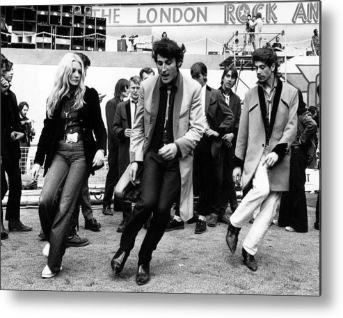 Rock Music Metal Print featuring the photograph Revival by Michael Webb