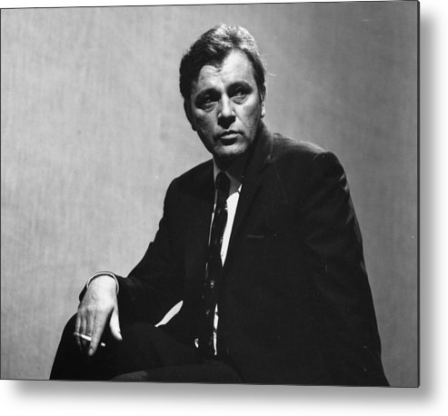 People Metal Print featuring the photograph Richard Burton by Evening Standard
