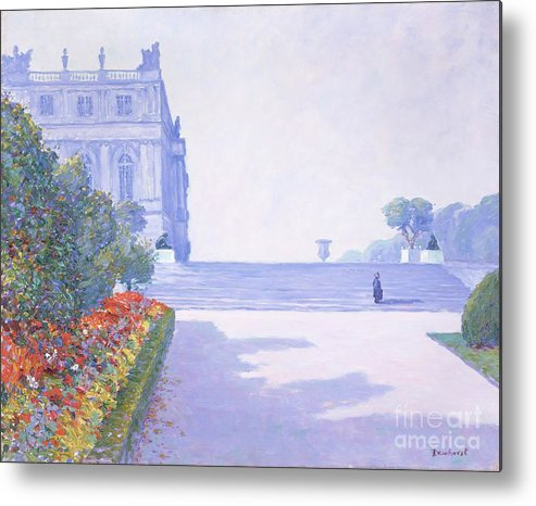 Shadow Metal Print featuring the drawing The Palace, Versailles, 1884-1941 by Heritage Images